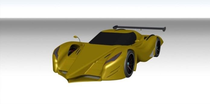 Greek Supercar Concept Study (1)