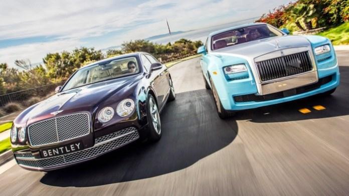 Head 2 Head Video Bentley Flying Spur Vs Rolls Royce Ghost