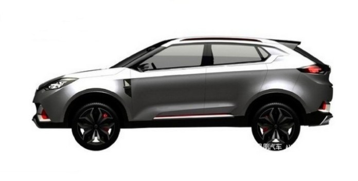 MG crossover patent leaked 1