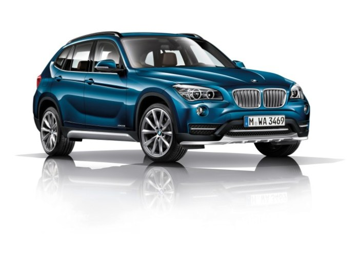 New accents for the BMW X1