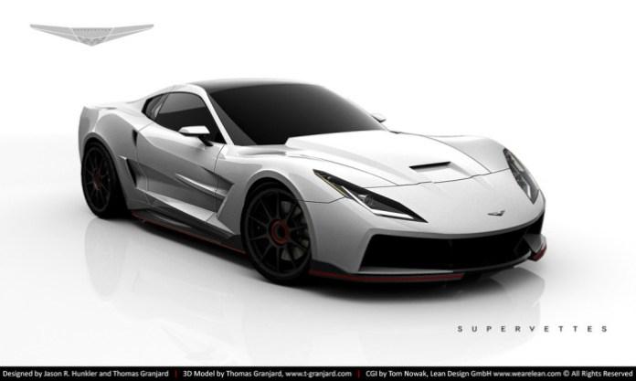 Supervettes SV8.R C7 Aerodynamic Kit for Chevrolet C6 Corvette (2)