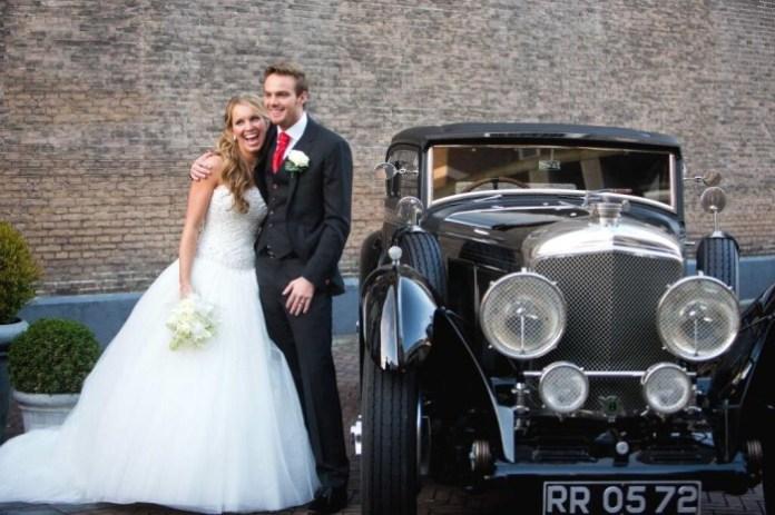 Van Der Garde married Denice