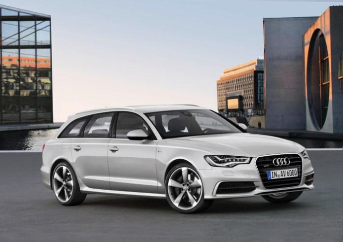 Audi A6 Avant S line/Standaufnahme