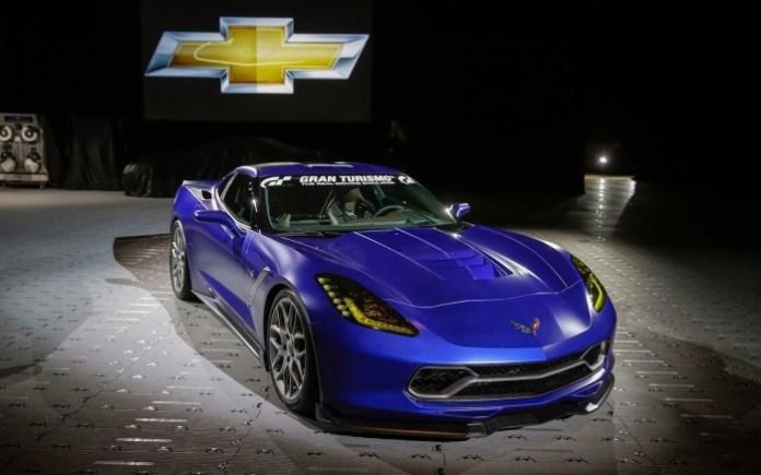 2013 Chevrolet Corvette Stingray Gran Turismo concept