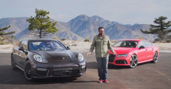 2014 Audi RS7 vs 2014 Porsche Panamera TurboHead 2 Head