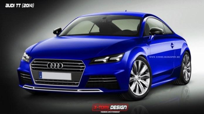 2015 Audi TT Coupe Rendering