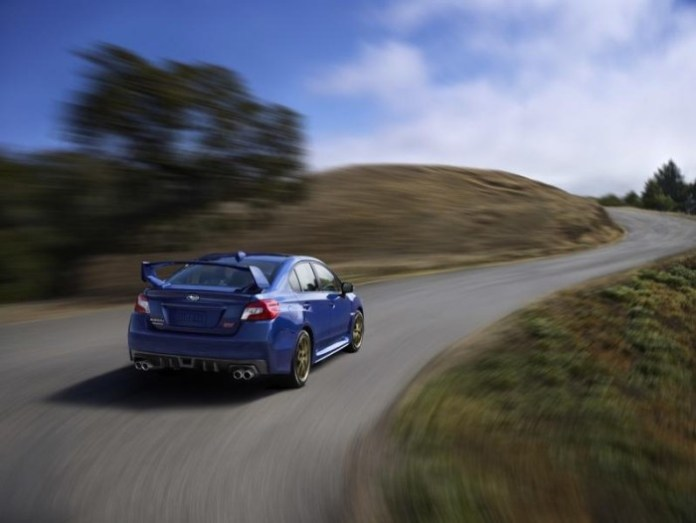 2015 Subaru WRX STI leaked photos 6