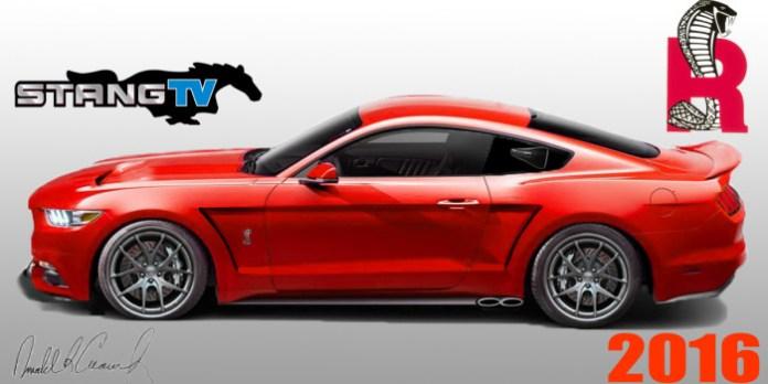 2016 Ford Mustang Cobra R Rendering