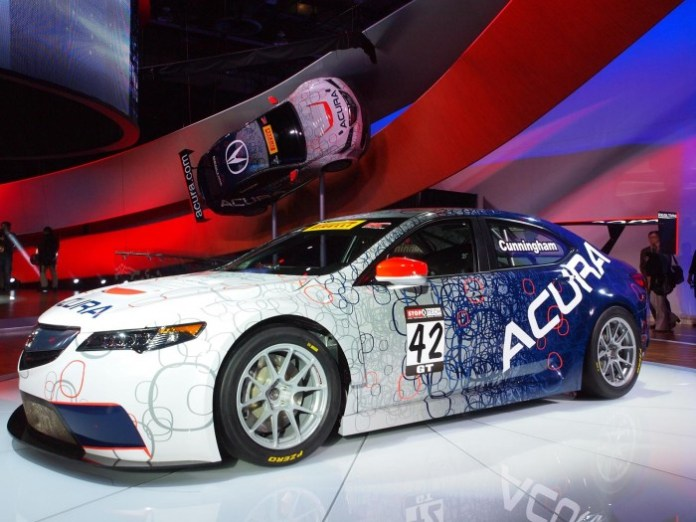 Acura TLX GT Race Car Live in Detroit 2