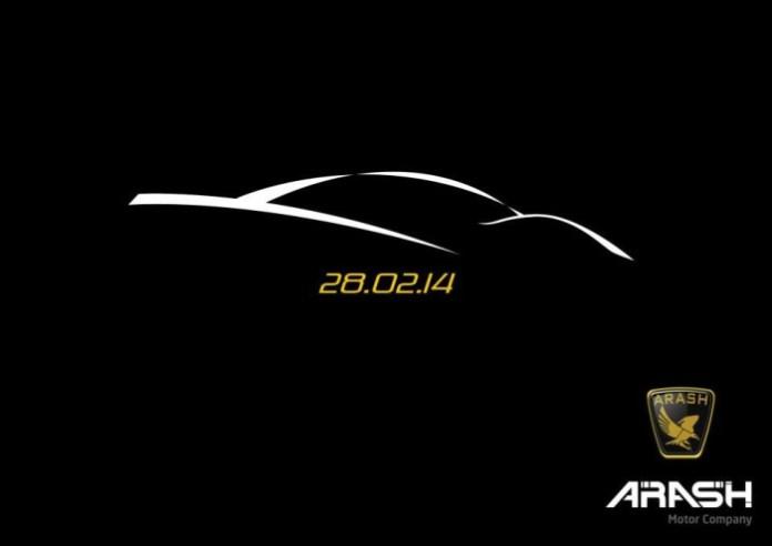 Arash new car teaser 2