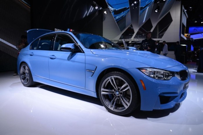 BMW M3 2014 Live in Detroit 2014 (1)
