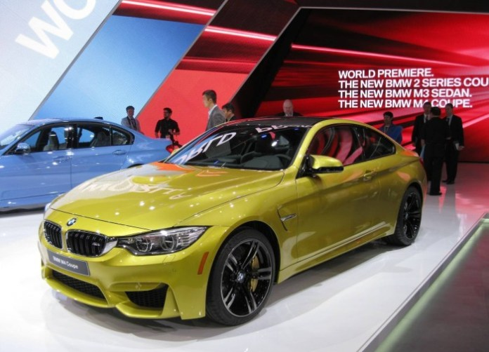 BMW M4 2014 Live in Detroit 2014 (2)