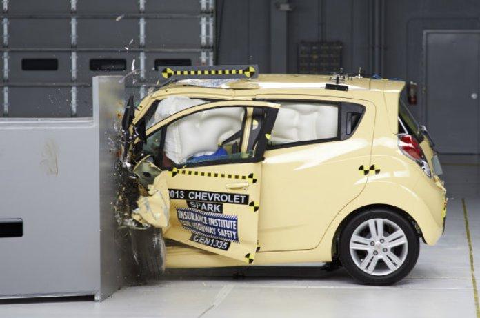 Chevrolet Spark IIHS