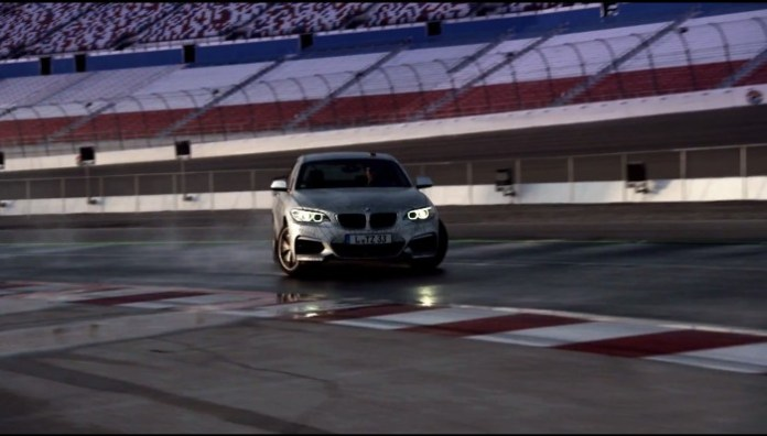 Drifting BMW