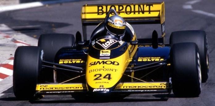 F1-1987-Alessandro-Nannini-Monaco-1987-Minardi