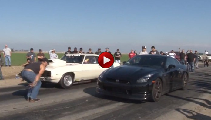 GT-R Vs Muscle Cars