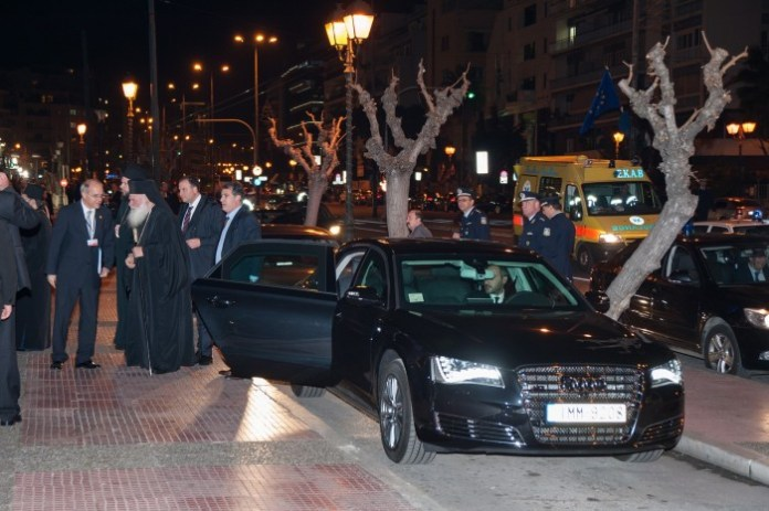 Greek Audi A6 and A8 out of Zappio