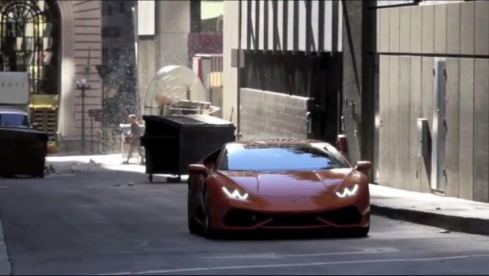 Lamborghini Huracan promo spy