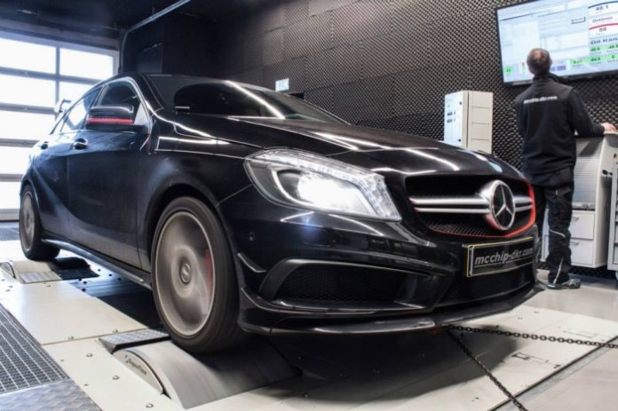 Mercedes A45 AMG by Mcchip-DKR (1)