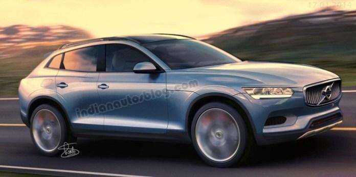 Next-gen Volvo XC90 2014 rendering