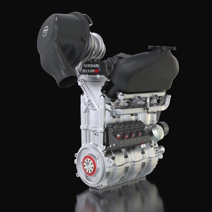 Nissan DIG-T R engine 1