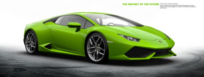 Official Lamborghini Huracan Configurator Launched