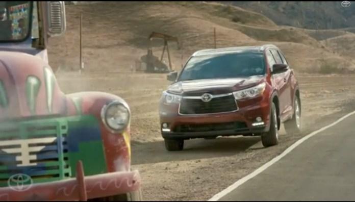 Toyota Super Bowl ad teaser