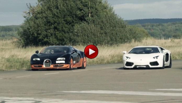 Veyron Vitesse Vs Aventador