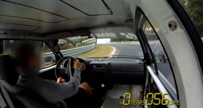 citroen AX diesel Nurburgring record lap 955 BTG