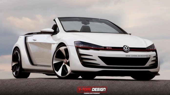 golf gti vision concept
