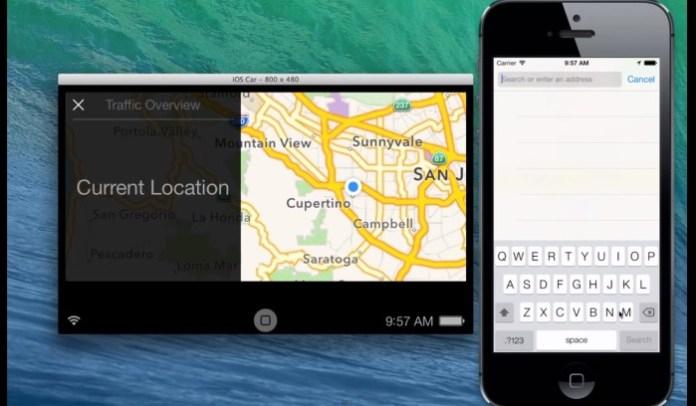 iOS in the Car demo