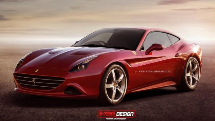 Ferrari California T Coupe render