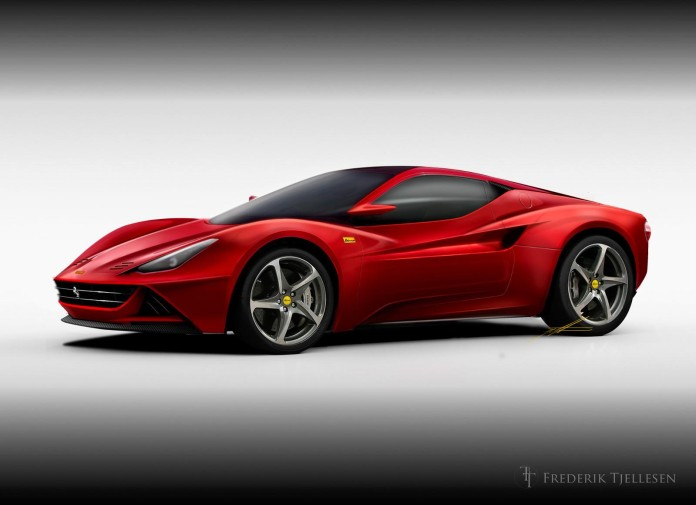 2015 Ferrari Dino speculative rendering