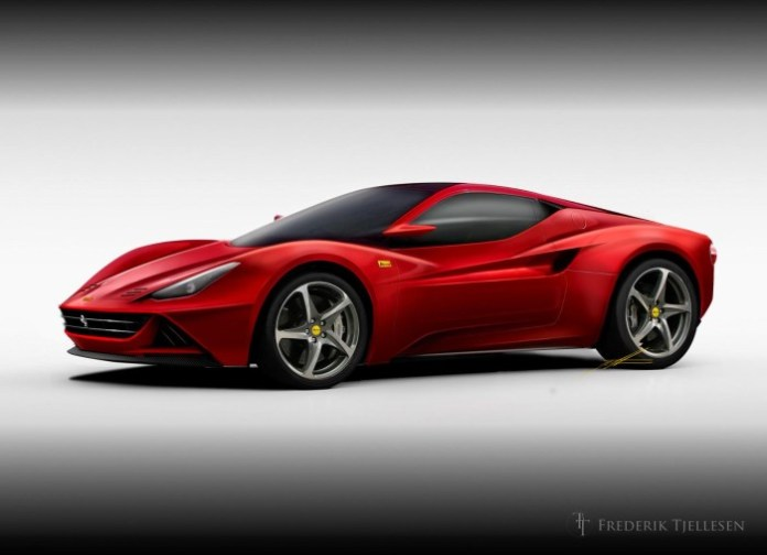 2015 Ferrari Dino speculative rendering