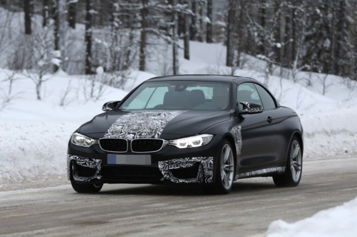 BMW M4 Convertible Spy Photos (1)