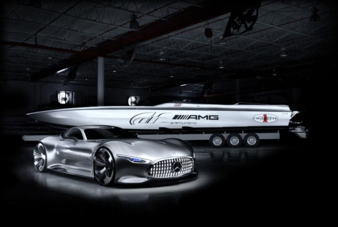 Cigarette Racing Vision GT Concept and Mercedes-Benz AMG Vision Gran Turismo (1)