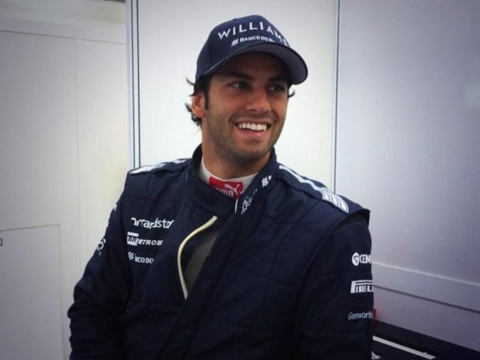 Felipe Nasr Williams-Bahrain Test