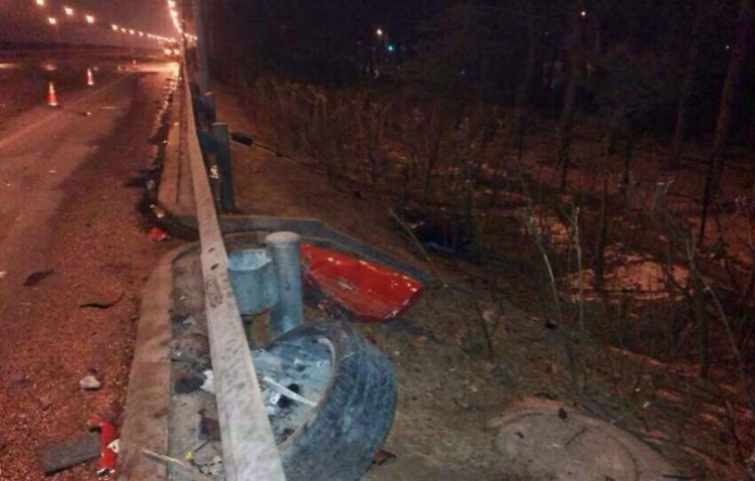 Ferrari 458 Italia Crash in China (5)