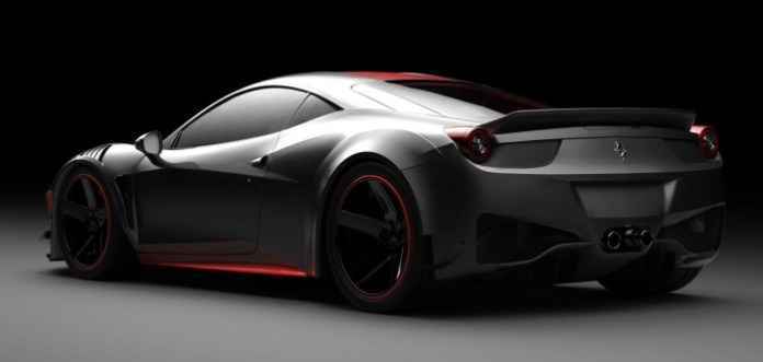 Ferrari F458 Curseive by Vogue Auto Design and Gray Design 5