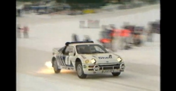Ford RS200 sweden