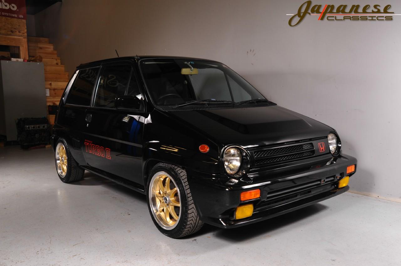 Ένα Honda City Turbo II του 1985 που θα ήθελες να έχεις ...