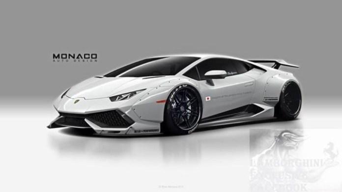 Lamborghini Huracan widebody