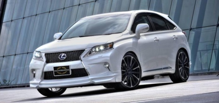 Lexus RX F SPORT by Wald International (3)