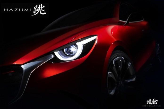 Mazda Hazumi concept teaser photo
