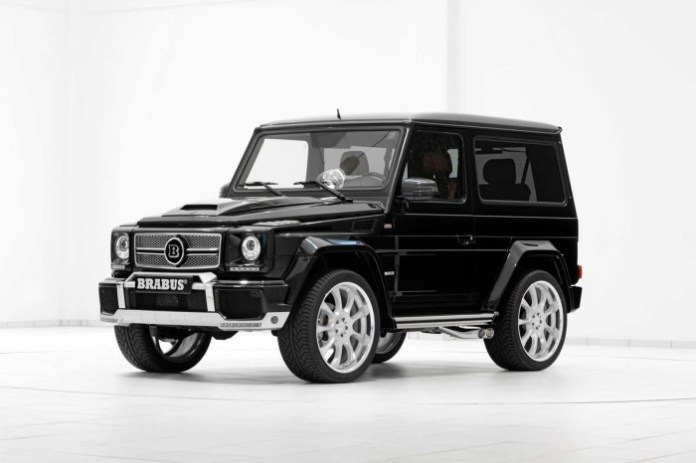 Mercedes-Benz G500 SWB 6.1 Widestar by Brabus (1)