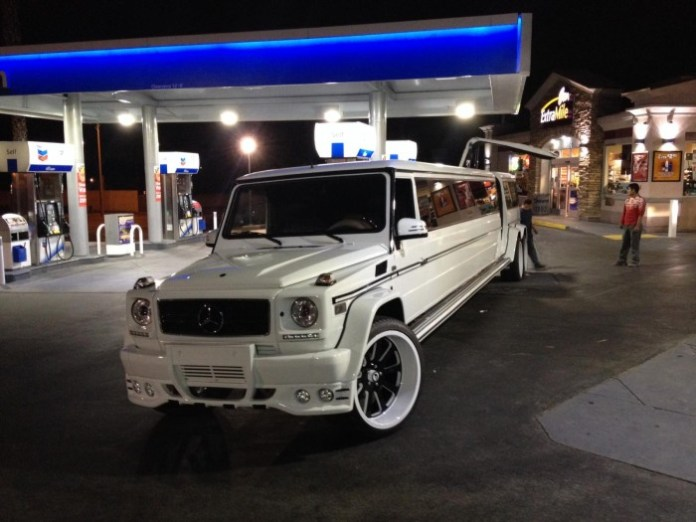 Mercedes-Benz G55 AMG stretched limo 2