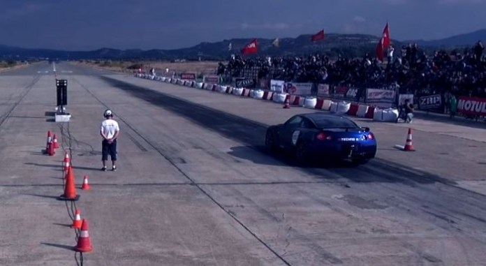 Nissan GT-R Altechno A1 best races from Unlim 500+ Greece