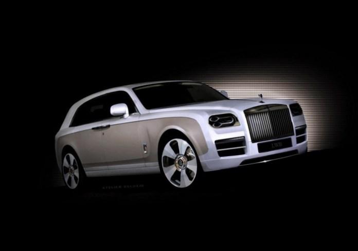 Rolls-Royce Crossover concept rendering 1