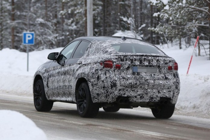 Spy Photos BMW X6 M 2015 (1)