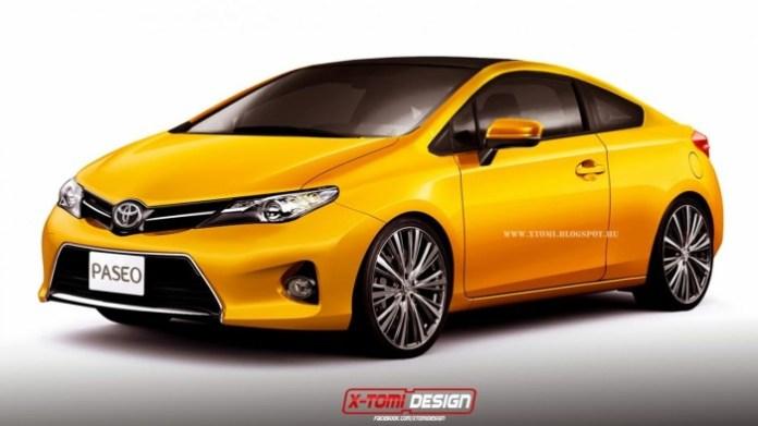 Toyota Paseo rendering 1